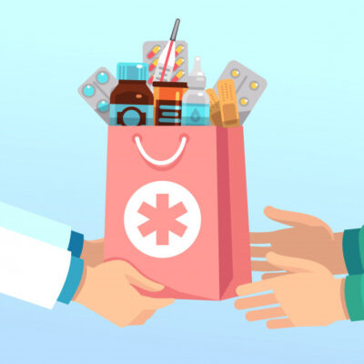 pharmacist-gives-bag-with-antibiotic-drugs-according-to-recipe-to-hands-of-patient-pharmacy-vector-concept_53562-7866